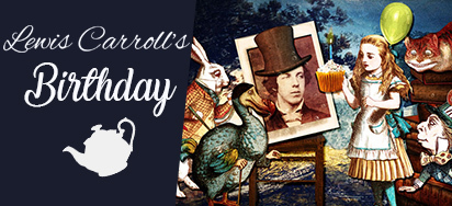 Lewis Carroll's Birthday Sale!