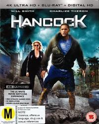 Hancock on Blu-ray, UHD Blu-ray