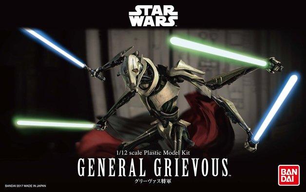 Star Wars 1/12 General Grievous - Scale Model Kit