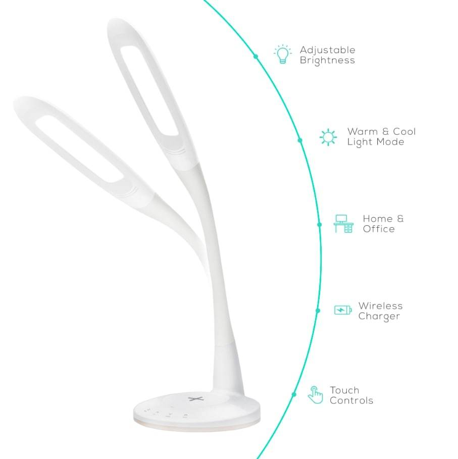 Activiva: LED Desk Lamp With Wireless Charging Base image