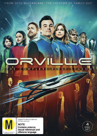 The Orville: Season 1 on DVD