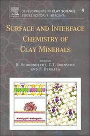 Surface and Interface Chemistry of Clay Minerals: Volume 9 by Johnston