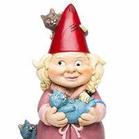 BigMouth – The Crazy Cat Lady Garden Gnome