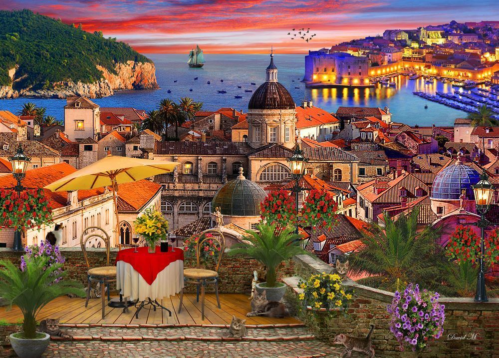 Holdson: 1000 Piece Puzzle - Of Land & Sea S2 (Dubrovnik) image