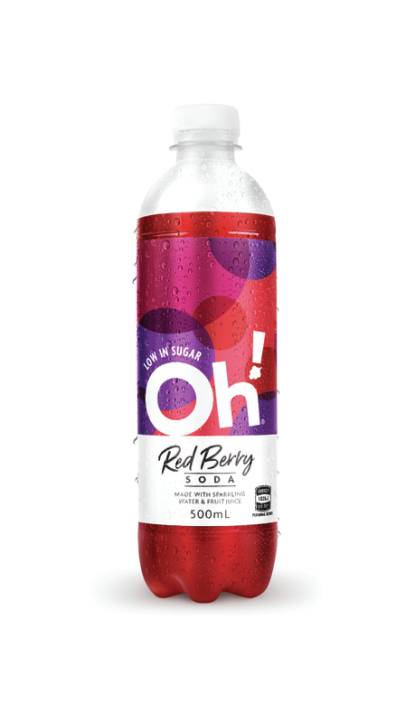 Sparkling OH! (Red Berry, 500ml x 12)