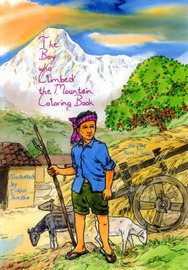 The Boy Who Climbed the Mountain by Steve Morris image