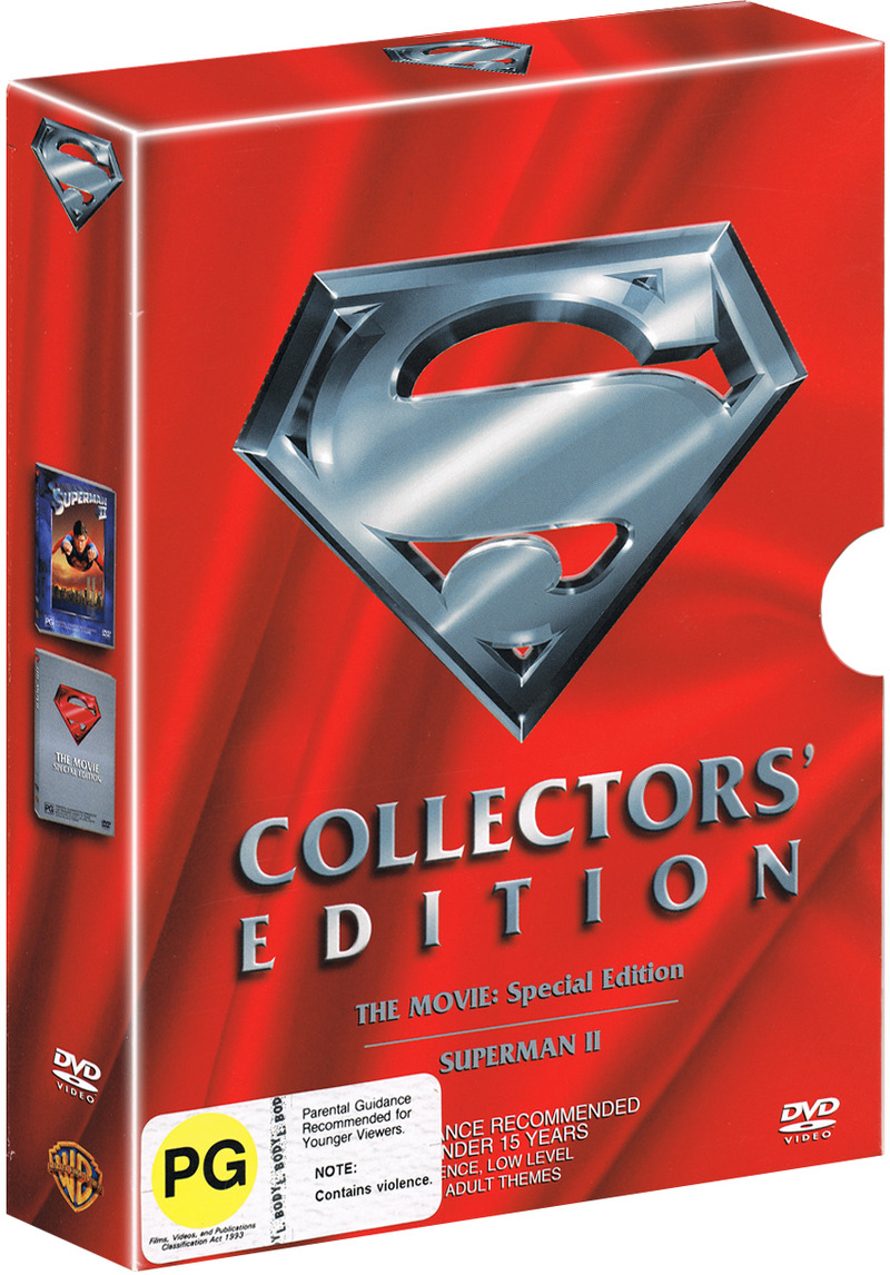 Superman - Collectors' Edition on DVD image
