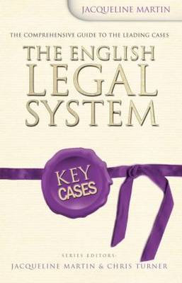 The English Legal System by Jacqueline Martin image