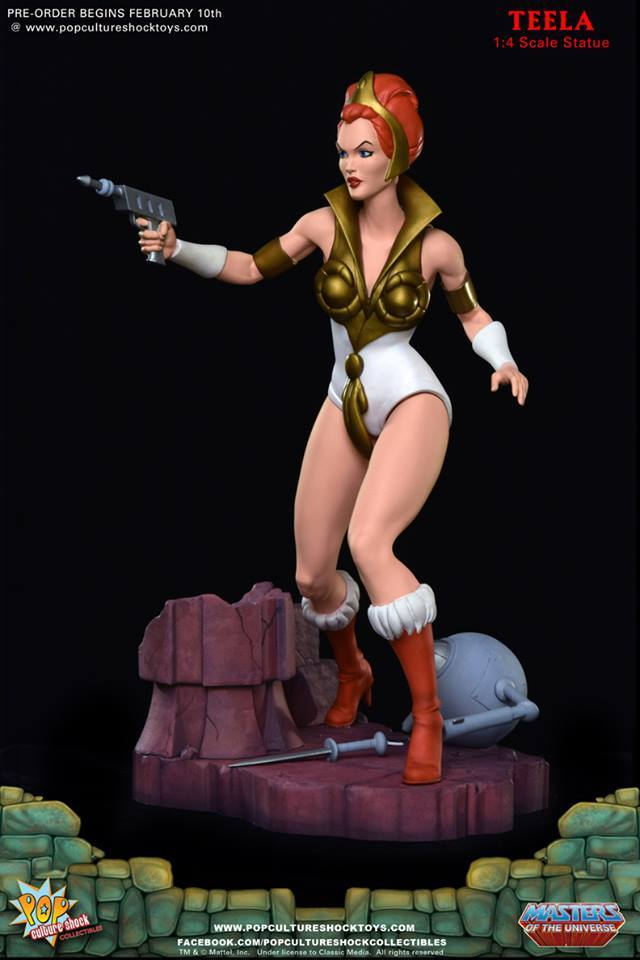 Masters of the Universe - Teela 1/4 Scale Statue | at ...