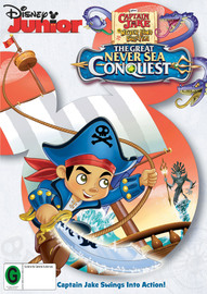 Captain Jake and The Never Land Pirates: The Great Never Sea Conquest on DVD