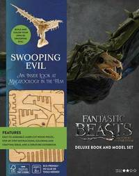IncrediBuilds: Fantastic Beasts and Where to Find Them: Swooping Evil Deluxe Book and Model Set by Jody Revenson image