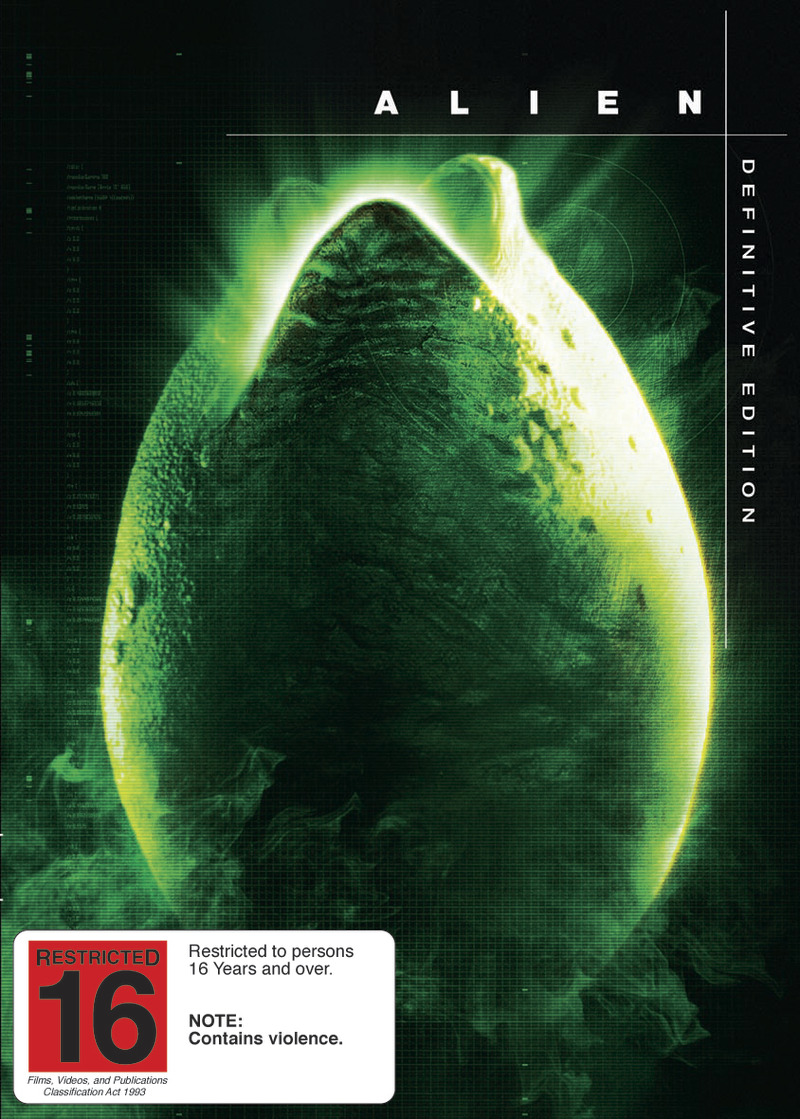 Alien - Definitive Edition on DVD image