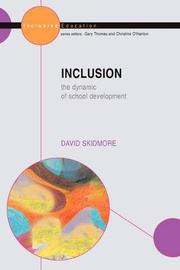 Inclusion: The Dynamic of School Development by David Skidmore image