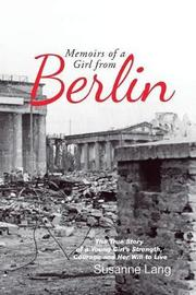 Memoirs of a Girl from Berlin image