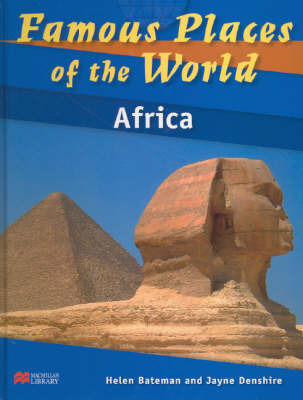 Famous Places of the World Africa Macmillan Library by Helen Bateman image