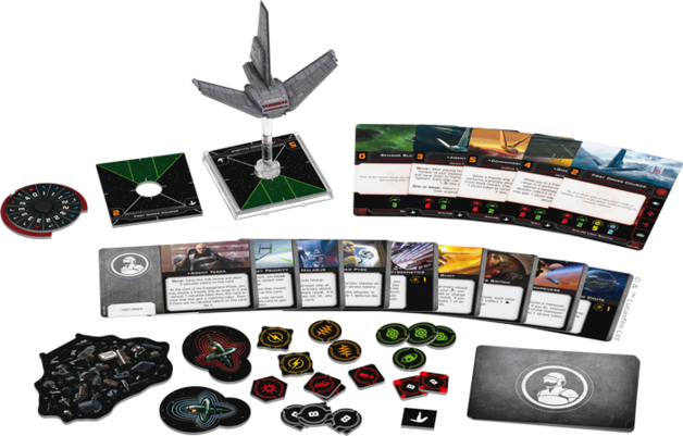 Star Wars X-Wing Second Edition Xi-class Light Shuttle Expansion Pack