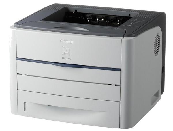Canon LBP 3300 Lasershot Printer Mono 21Ppm 600 x 600 Dpi Laser Printer LBP3300 image