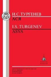Asya by Ivan Turgenev