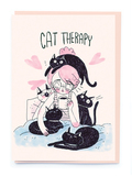Noi - Cat Therapy Card