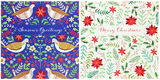 Christmas Wallet: 10 Christmas Foliage Cards