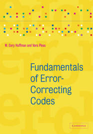 Fundamentals of Error-Correcting Codes by W.Cary Huffman image