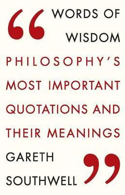 Words of Wisdom by Gareth Southwell