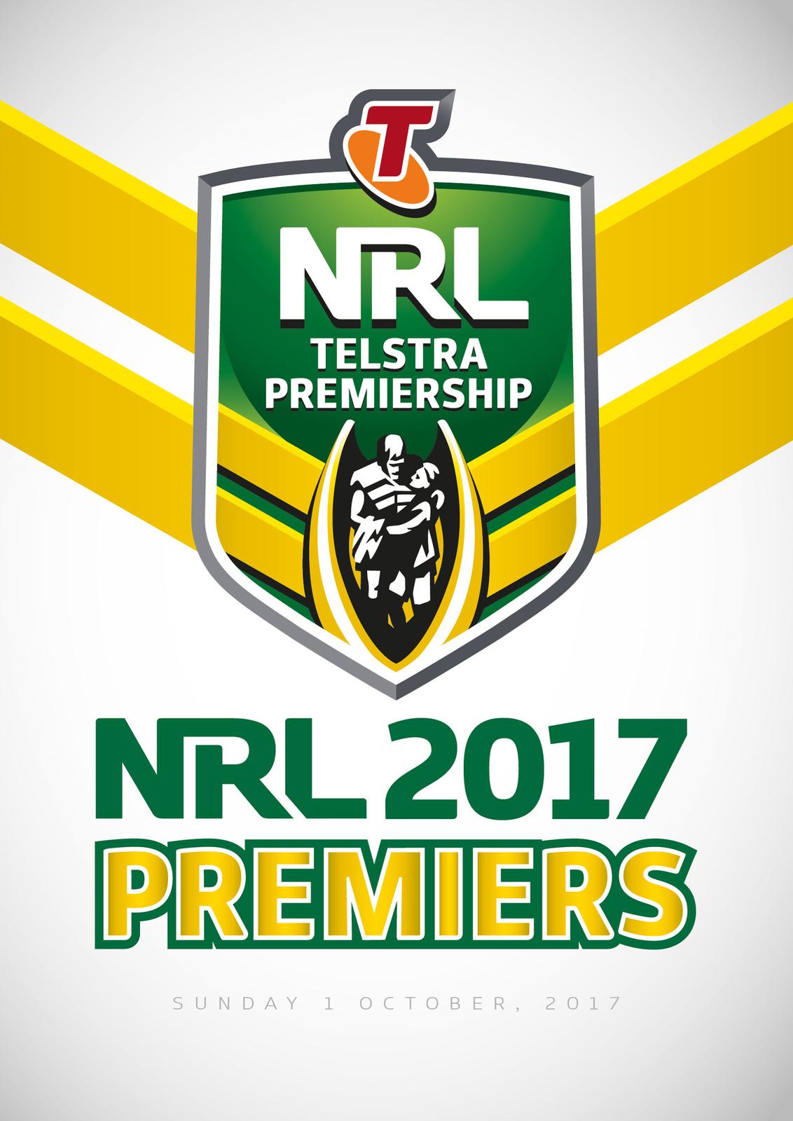 NRL Premiers 2017 Team A on DVD image