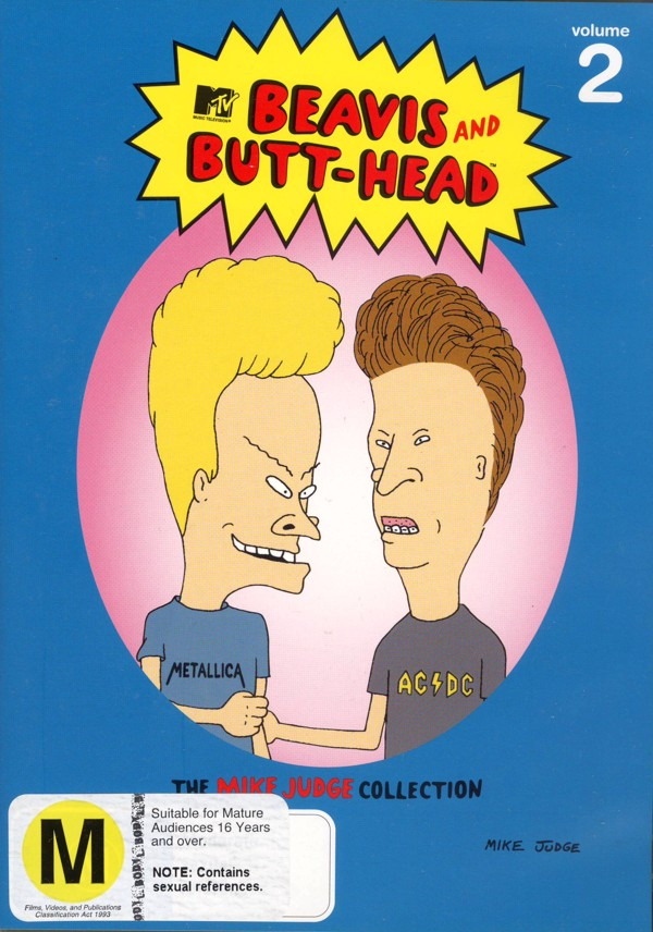 Beavis And Butt-Head - The Mike Judge Collection: Vol. 2 (3 Disc Set) on DVD image