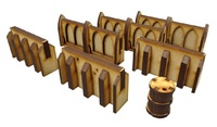 TTCombat: Tabletop Scenics - Small Walls image