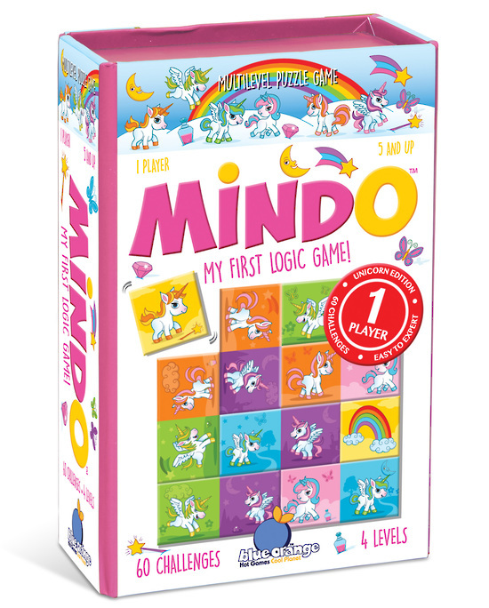 Blue Orange Games: Mindo Unicorn - My First Logic Game