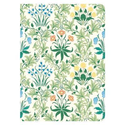 Journal: Handmade Embroidered - William Morris Celandine