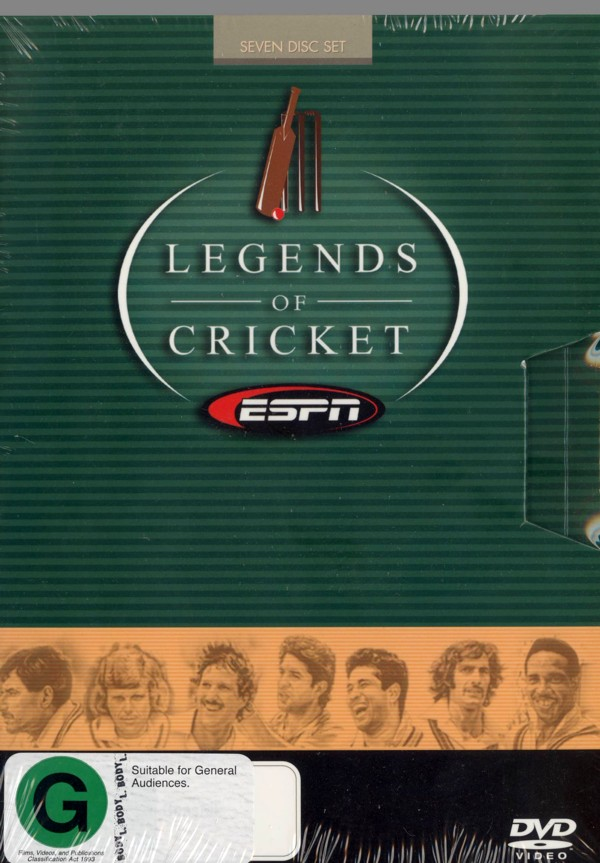 Legends Of Cricket (7 Disc) on DVD image