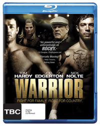 Warrior on Blu-ray