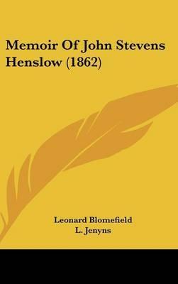 Memoir Of John Stevens Henslow (1862) by Leonard Blomefield image