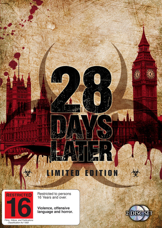 28 Days Later - Limited Edition (2 Disc Set) on DVD