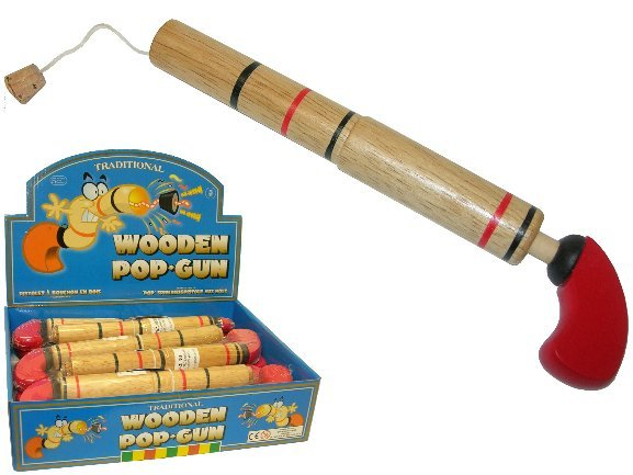 Tobar: Wood Pop Gun