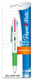 Papermate 4-Ball Ballpoint Neon Pen