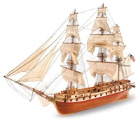 USS Constellation Wooden Ship Model Kit