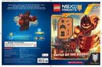 Battle of the Books (Lego Nexo Knights: Activity Book with Minifigure) by Scholastic