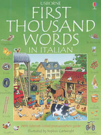 The Usborne First Thousand Words in Italian by Heather Amery image