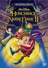 The Hunchback of Notre Dame 2 on DVD