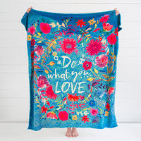 Natural Life: Cozy Blanket - Do What You Love