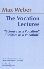 The Vocation Lectures by Max Weber image