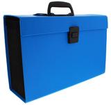 ColourHide Carry File Linen Finish - Blue