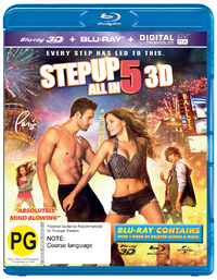 Step Up All In on Blu-ray, 3D Blu-ray
