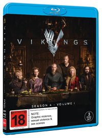 Vikings: Season 4 - Volume 1 on Blu-ray image