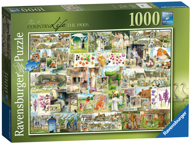 Ravensburger: Country Life 1900s - 1000pc Puzzle