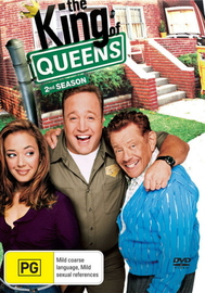 King Of Queens, The - 2nd Season (4 Disc Set) on DVD image