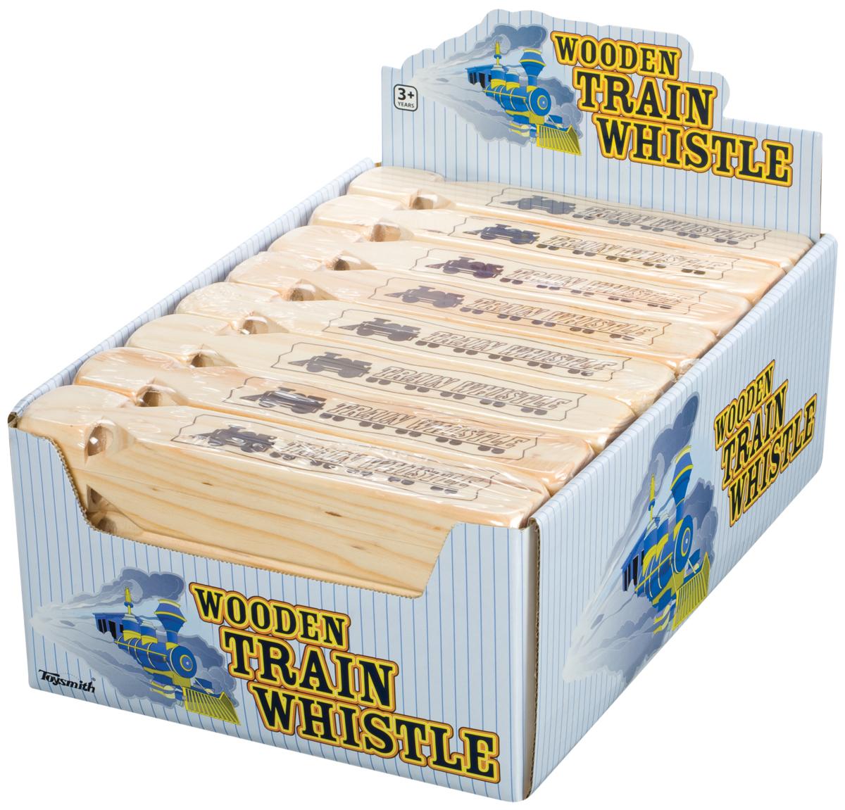 Toysmith: Wooden Train Whistle image