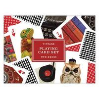Galison: Playing Cards - Vintage image